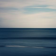Abstract Ocean Photograph Navy Blue Summer by EyePoetryPhotography, $30.00