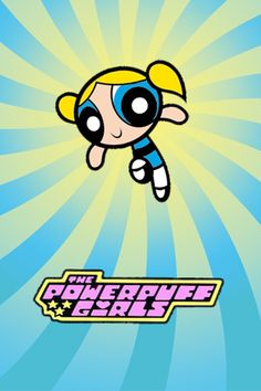 Bubbles from the Powerpuff Girls. Wallpaper Iphone Cute, Girl Wallpaper, Powerpuff Girls Wallpaper, Cartoon Background, Old Cartoons, Cute Cartoon Wallpapers, Cartoon Shows, 90s Kids, Future Boy