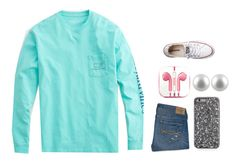 """Feild trip!"" by mgropp ❤ liked on Polyvore featuring Vineyard Vines, Abercrombie & Fitch, PhunkeeTree, Splendid Pearls and Converse"