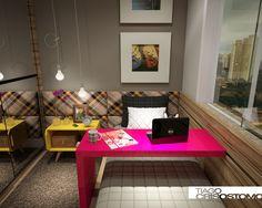 Tiago Crisostomo: Dormitório Jovem Adolescente Feminino