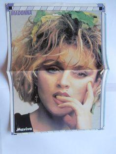 Madonna Duran J Taylor Mini Poster Greek Magazines clippings 80s 90s | eBay