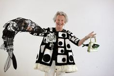 Thread, Fashion and Costume: Izzy Gibbs costume for 'Mrs Bedonebyasyoudid' ECA