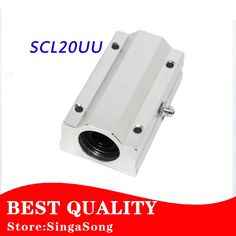 12.55$  Buy here - http://aliepw.shopchina.info/go.php?t=32797041017 - SC20LUU SCS20LUU 20mm Linear Ball Bearing Block for 20mm shafts CNC Router pillow 12.55$ #aliexpresschina
