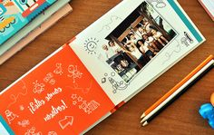 Book Pages, Page Design, Photo Book, Children, School, Books, Graduation, Scrapbooking, Loft