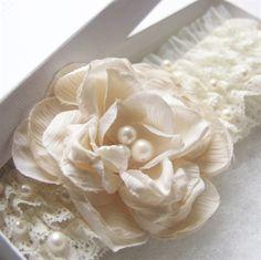 Atelier Rousseau bridal garter