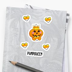 Show everyone who is the real deal this Halloween, spice up your look with this cute pumpqueen design made for Queens and Couples. • Millions of unique designs by independent artists. Find your thing. Halloween Stickers, Cool Stickers, Spice Things Up, Queens, Avocado, Finding Yourself, Reusable Tote Bags, Japanese, Artists