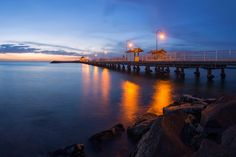 St Kilda - St Kilda at twilight.
