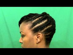 Natural Hair Tutorial: A Flat Twist Updo <-- One day I will possess the know-how, and the patience, to do this style