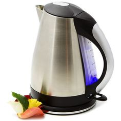 Blue Sky Electric Tea Kettle with Auto Shut Off *** Learn more by visiting the image link-affiliate link. Perfect Cup Of Tea, Canned Heat, Water Heating, Brewing Tea, Loose Leaf Tea, Tea Accessories, Home Goods, Cool Things To Buy, Tea Cups