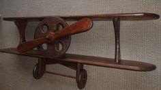 Wood Airplane Shelf  Aviation Decor  Airplane Shelf  by AtticJoys1, $129.00
