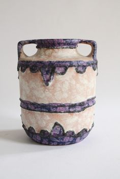 Anonymous; Glazed Ceramic Vase by Marei Keramik, 1960s.