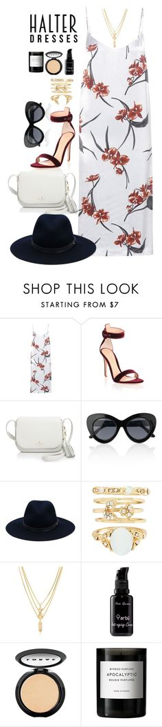 """""""Sin título #284"""" by aangeles-mendoza ❤ liked on Polyvore featuring Ganni, Gianvito Rossi, Kate Spade, Le Specs, rag & bone, New Look, Kenzo, arbÅ«, LORAC and Byredo"""