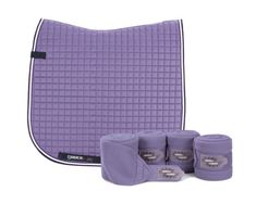 Eskadron Limited Edition Dressage Saddlecloth & Bandages Set Light Lilac/Purple | eBay