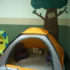 Preschool camping center