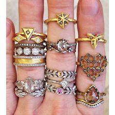 rings via cathy waterman