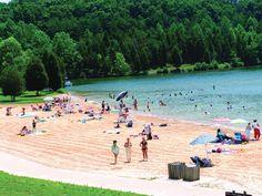 Beach-Like vacations in Northern Virginia (i.e. Lake Anna)