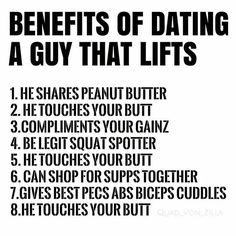 date a guy that lifts