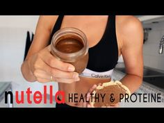 NUTELLA HEALTHY ❤ Protéiné, vegan & fit (Sissytella) - YouTube