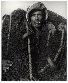 Manuel Carrillo (1906-1989, Mexican photographer) - Fisherman