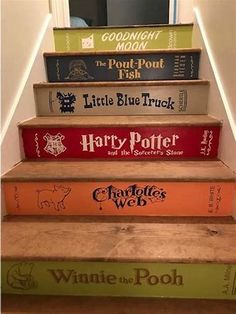 Images Book Staircase, Staircase Design, Carpet Staircase, Staircase Runner, Stair Design, Staircase Ideas, Stair Steps, Stair Risers, Stair Stickers
