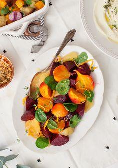 Raw Beets, Fresh Beets, Beet Hummus, Beet Salad, Salad Bar, Sauteed Beet Greens, Roasted Beets Recipe, Roasting Beets In Oven, Beet Recipes