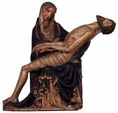 Pietà de Jihlava (1400-10, glèisa Sant Ignaci, Jihlava-Iglau)