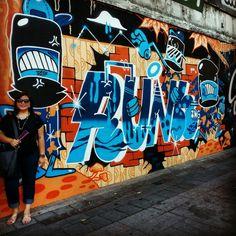 #StreetArt #Graffiti at #Ximending district in #Taipei #Taiwa