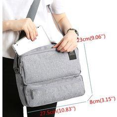 Ekphero Women Men Unisex Outdoor Large Capacity Functional Shoulder Bag Crossbody Bag is fashion-NewChic Mobile.