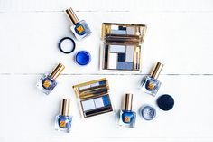 Vibrant makeup via The Chriselle Factor Give It To Me, Make Up, Estee Lauder, Shades Of Blue, Lifestyle Blog, Beauty Products, Makeup Looks, Blues, Navy Blue