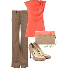 This casual but professional spring outfit is perfect for today's busy, working women. www.odonnelllawcenter.com