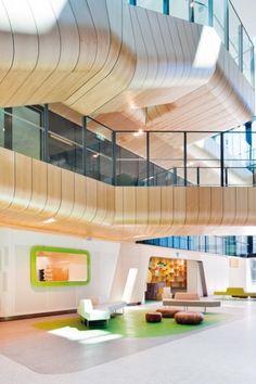 Healthcare Children Hospital Lobby: Royal Children's Hospital, Melbourne, Australia. #healthcare, #hospital