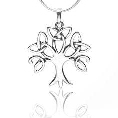 "925 Sterling Silver Celtic Trinity Tree Pendant Necklace 18""- Nickel Free Chuvora http://www.amazon.com/dp/B00FKVWIF4/ref=cm_sw_r_pi_dp_EGHyub0N1QBXX"