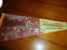 Rocky Mountain National Park Pennant