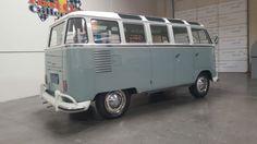1961 Volkswagen Samba 23 Window Deluxe Sunroof Microbus