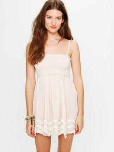 Free People Waves Hem Slip, $88.00    just bought this today! cant wait to wear it :)