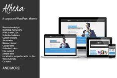 Alhena Corporate WordPress theme by ThemeinProgress on @creativemarket