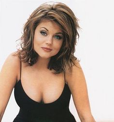 Tiffani Thiessen Hair | Thiessen Tiffany (Tiffany-Amber Thissen), photo, biography