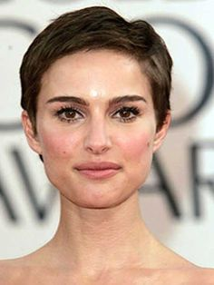 Natalie Portman Very Short Pixie