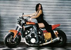 motorcycle custom v-max 1990