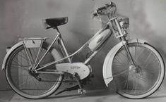 """Fiche technique : LUTIN (TT) type peugeot - mobylette 50cc. Apparu au Salon 1954 pour constituer le modèle luxe de la gamme, ce """"nouveau"""" modèle est emprunté à PEUGEOT qui, pour son Type BIMA"""