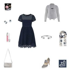 Navy Embroidery http://www.3compliments.de/outfit?id=129585606