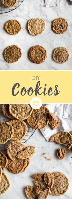 Wie sehen die perfekten Chocolate Chip Cookies aus? Weich und groß? Oder knusprig und flach? Dank diesen 6 Punkten backst du die perfekten American Cookies.