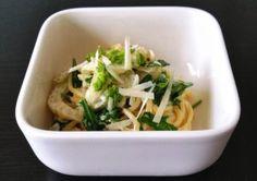 Pastamaniac - Spaghetti mit Fenchel, Bärlauch und Rauke