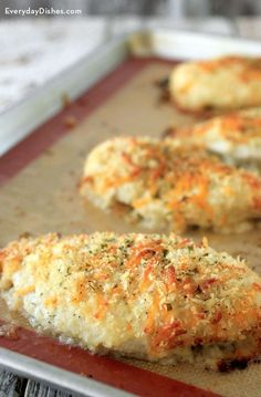 Bored with the same old chicken recipes? Try our ranch cheddar chicken for something different. You can even have it ready ahead of time then pop it in the oven at your convenience.