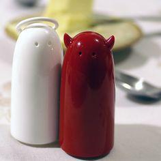 Fancy - Angel & Devil Salt & Pepper Shakers