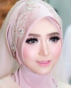 22 Best Hijab Style For Wedding Images In 2019 Bridal Hijab