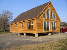 American homes NY, one of the established mobile home manufacturers NY, offering wide range of manufactured double-wide modular homes across New York. Building A Small House, Shed To Tiny House, Tiny House Cabin, Log Cabin Homes, Modular Cabins, Modular Homes For Sale, Modular Home Floor Plans, Cabin Floor Plans, Small Modern House Plans