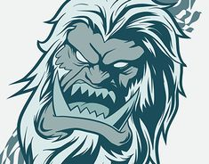 """Check out new work on my @Behance portfolio: """"Angry Yeti face"""" http://be.net/gallery/31803473/Angry-Yeti-face"""
