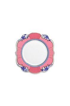 Show details for Royal cake plate multi-colour