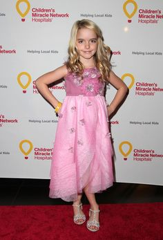 "McKenna Grace Photos Photos - Actress Mckenna Grace attends the Jennifer Lopez and Marie Osmond launch of the ""Put Your Money Where The Miracles Are"" campaign at Avalon on May 14, 2015 in Hollywood, California. - Jennifer Lopez and Marie Osmond Launch 'Put Your Money Where The Miracles Are' Campaign"